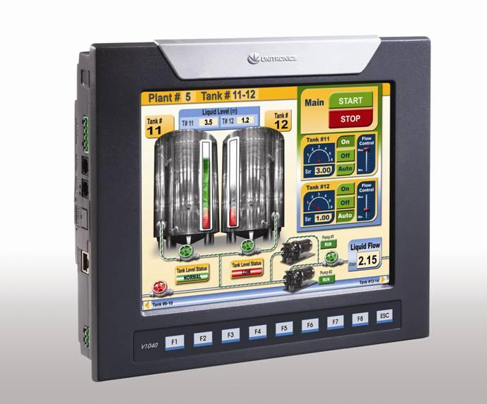 Case Study Unitronics Vision 1040 PLC+HMI